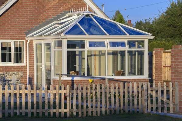 lightweight glass conservatory roof