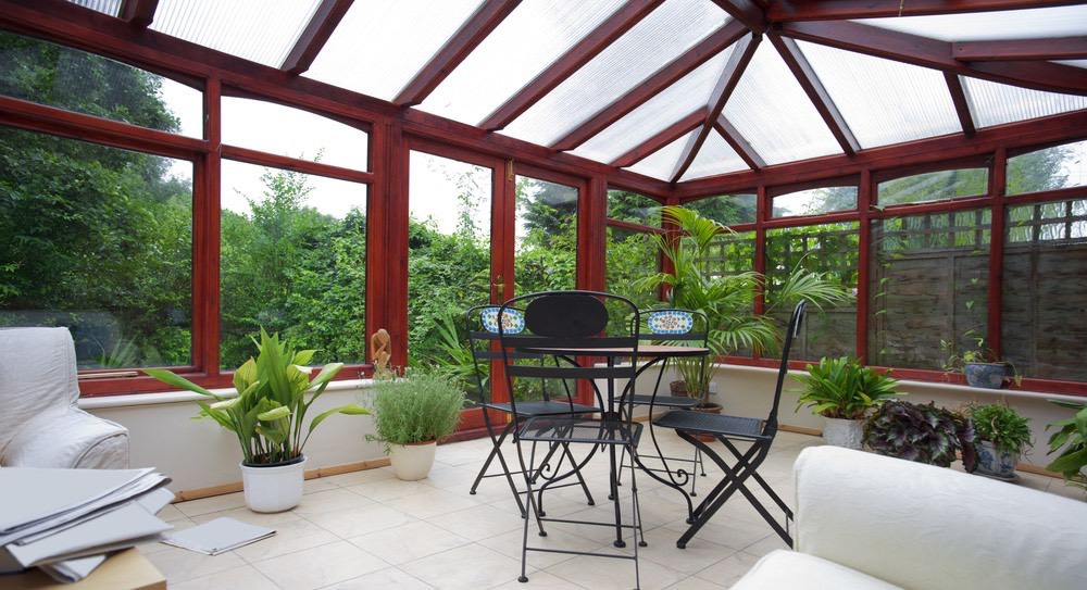 hardwood conservatory features
