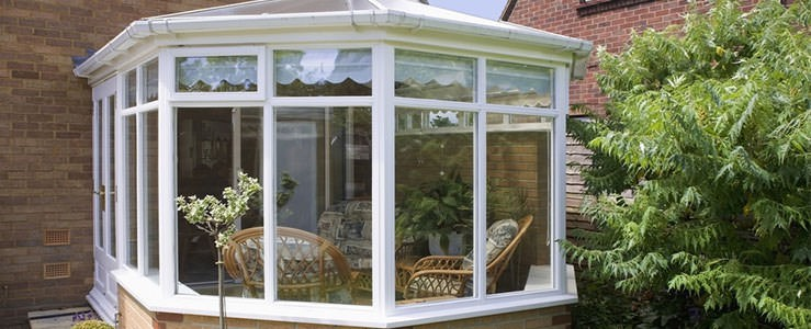 multi faceted upvc victorian conservatory