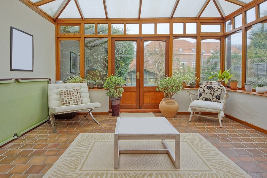 obscured view - replacement polycarbonate conservatory roof cost