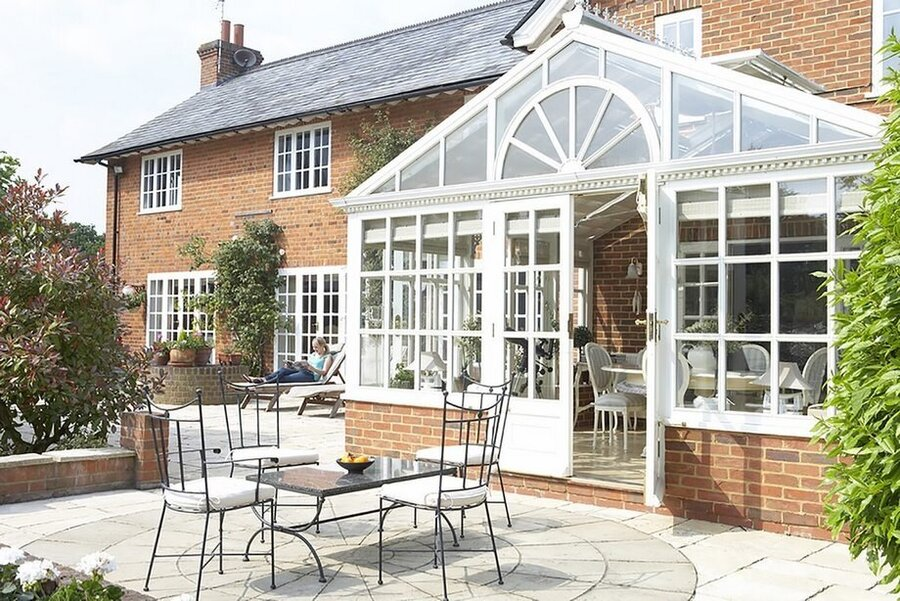 gable conservatory - replacement conservatory roof cost