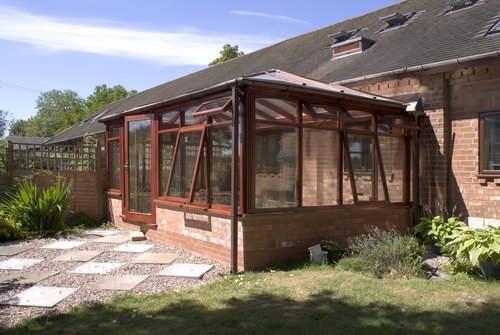 oak-framed conservatory orangery