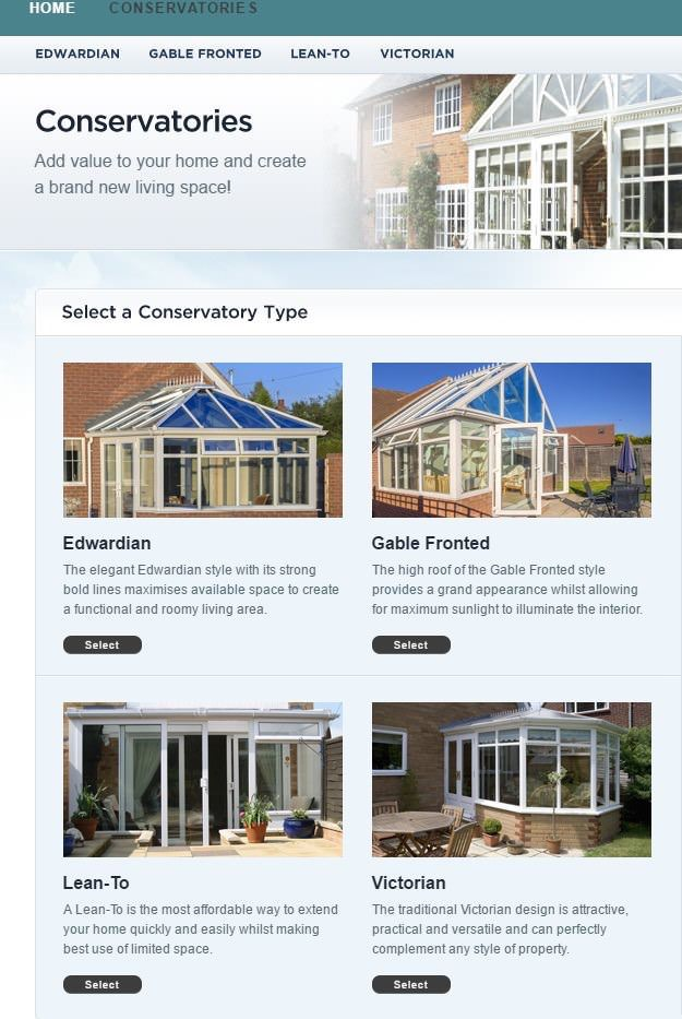 Cheap conservatory price