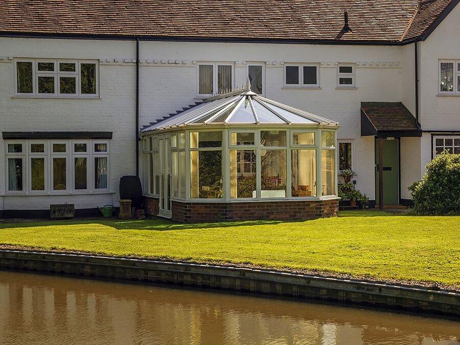 Modern Victorian Conservatory