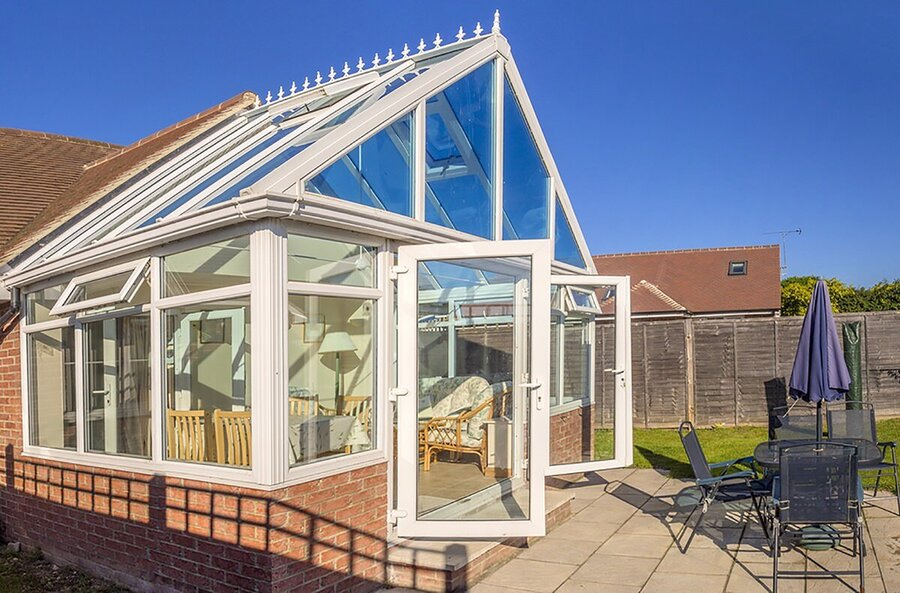 replacement conservatory roof cost for gable roof