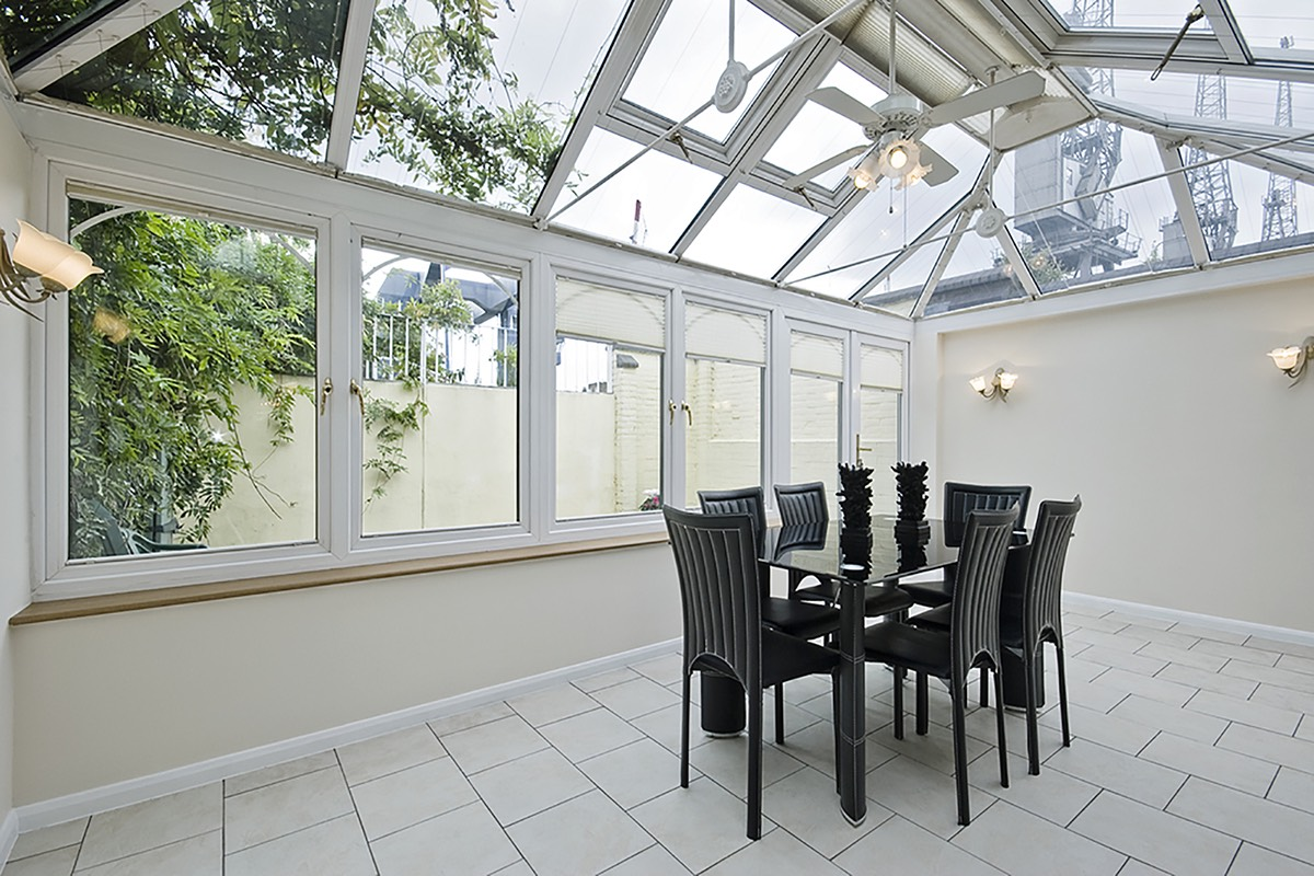 Adding a conservatory