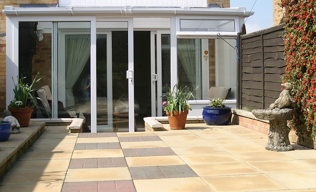 adding a conservatory to a bungalow