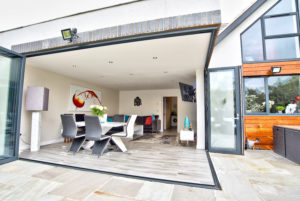bi-folding doors for conservatories