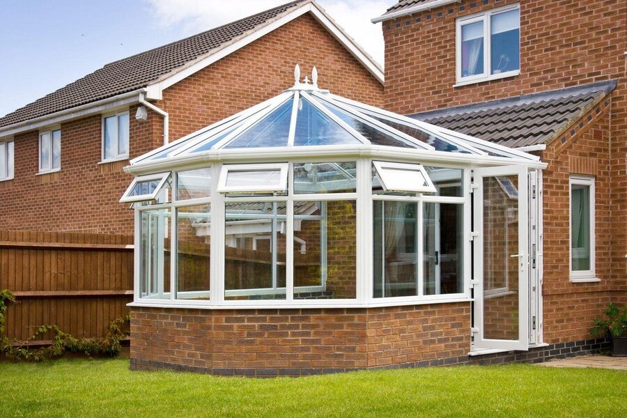 popular conservatory dwarf walls