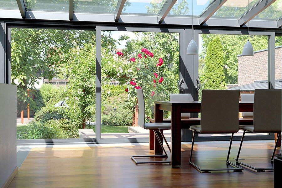 office in conservatory