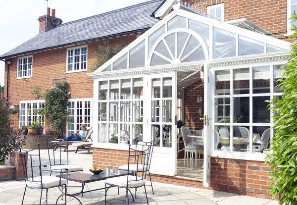 are conservatories warm in winter