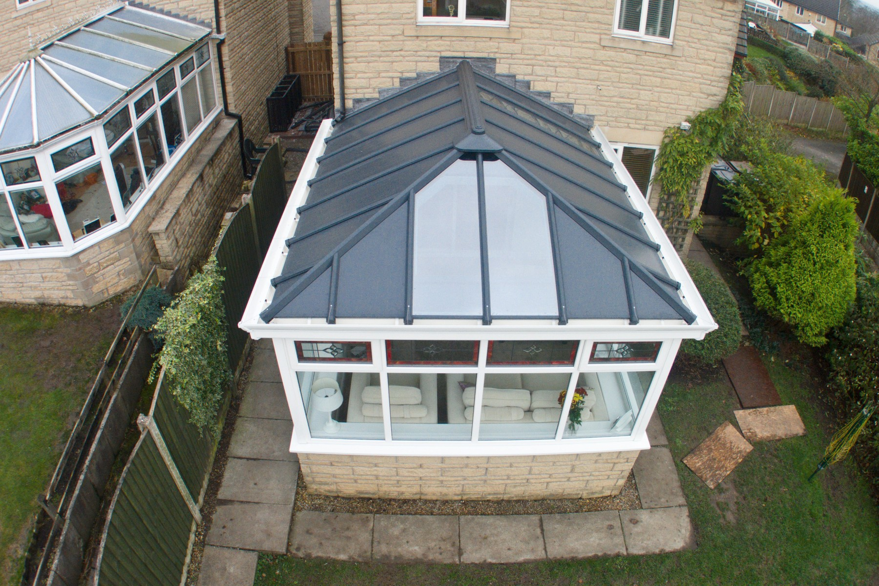 insulating replacement conservatory roof