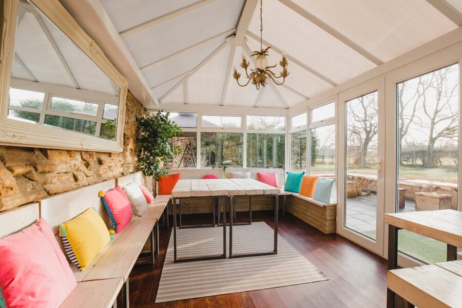 second hand conservatory roofs