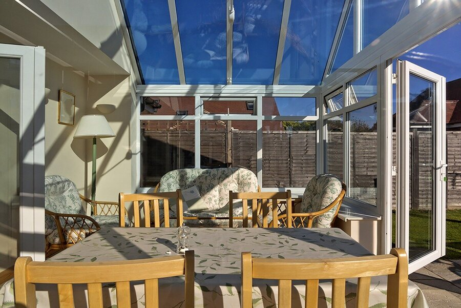 enhance a second hand conservatory