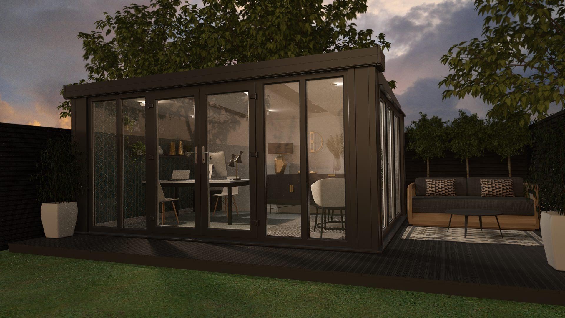 conservatory vs garden room prices